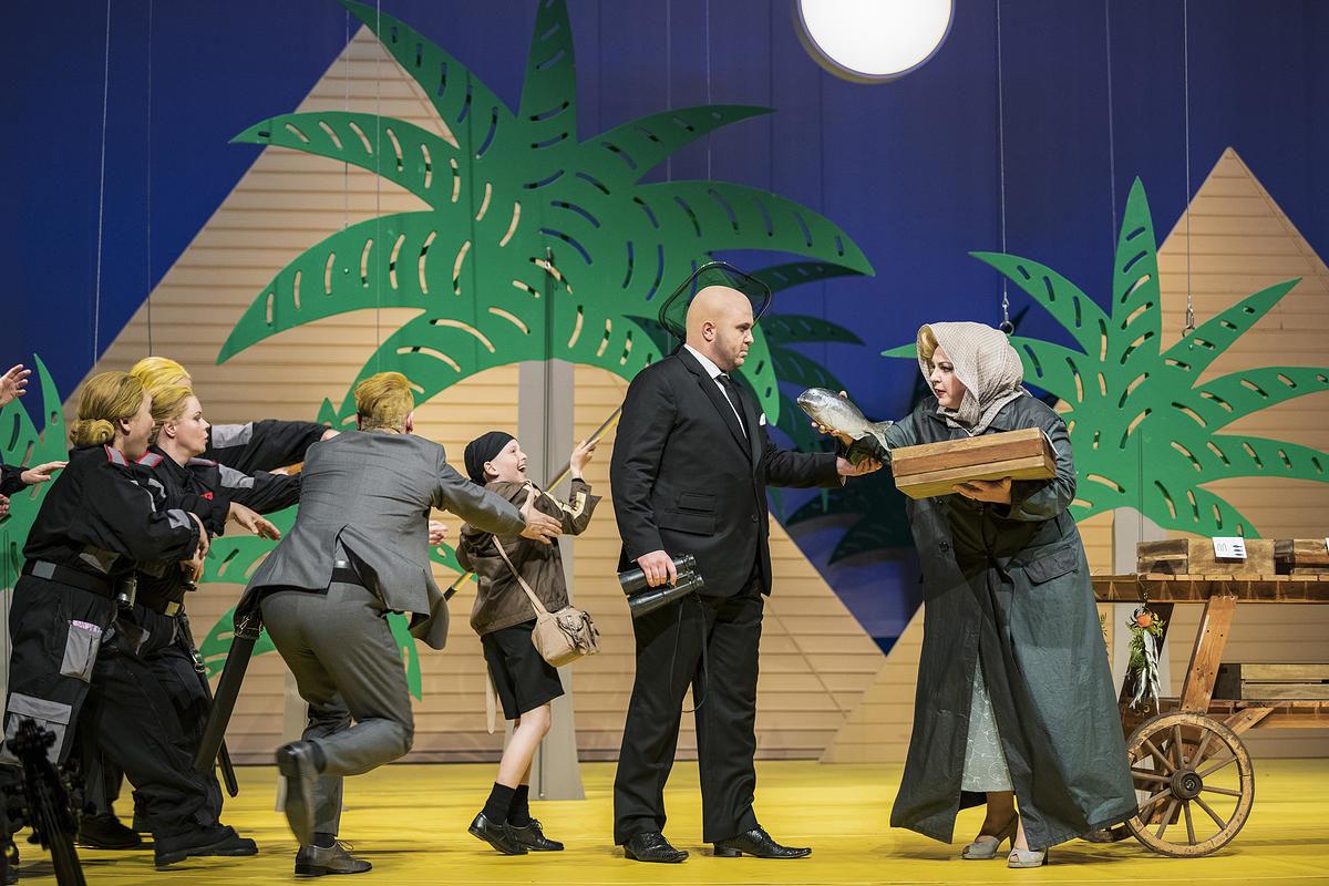Georg Friedrich Händel: JULIUS CÄSAR IN ÄGYPTEN,  Premiere Oper Halle, 31. Mai 2019
