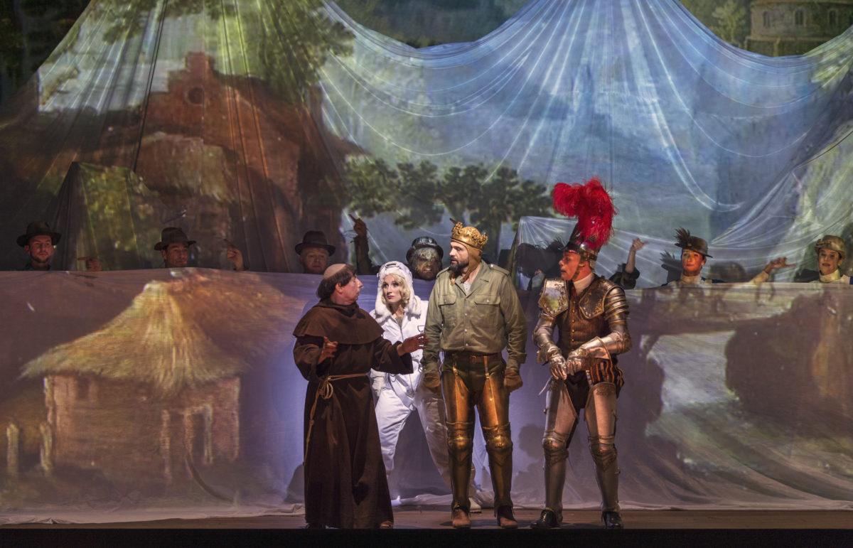 Henry Purcell, King Arthur,  Staatsoper Unter den Linden, Berlin