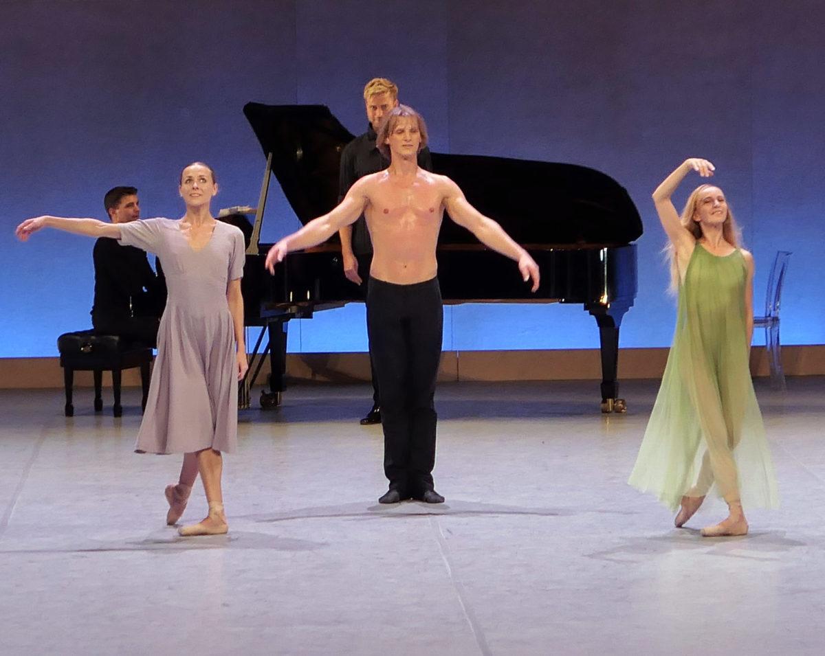 Ballette für Klavier und Stimme, 4 Ballette von John Neumeier,  Staatsoper Hamburg, 22. Oktober 2020