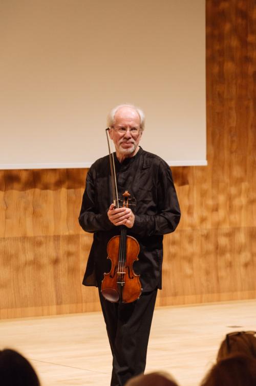 Gidon Kremer,  Elbphilharmonie, Hamburg, Kleiner Saal