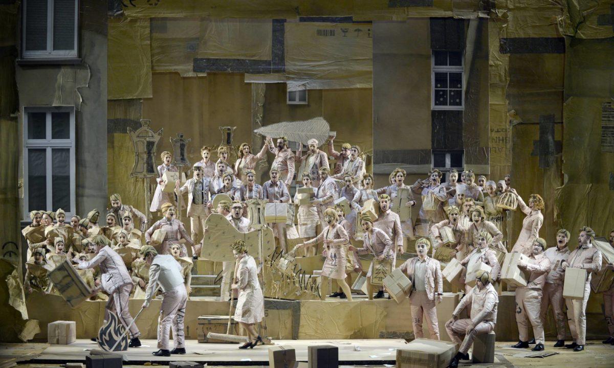 Giacomo Puccini, La Bohème (Premiere),  Oper Wuppertal, 2. November 2019