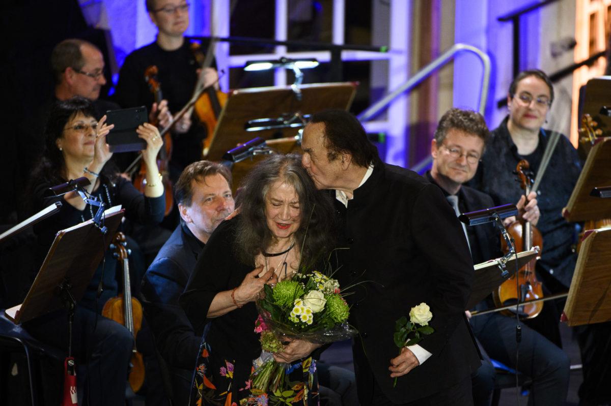 Martha Argerich, Carolina Eyck, Charles Dutoit,  Lausitz Festival, 10. Oktober 2020