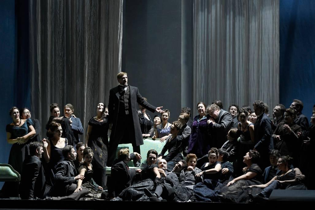 Jacques Offenbach, Les Contes d'Hoffmann, Premiere,  Deutsche Oper Berlin