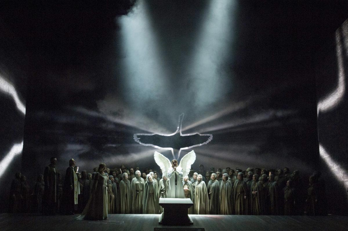 Lohengrin, Richard Wagner, Klaus Florian Vogt (Tenor),  Deutsche Oper Berlin