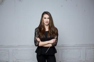 Interview mit der polnischen Dirigentin Marta Gardolińska