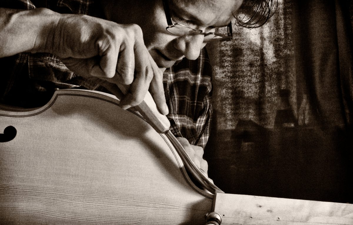 Interview mit dem Instrumentenbauer Matthew Farley,  klassik-begeistert.de