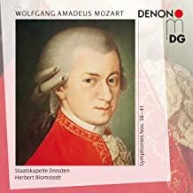 CD Rezension:Wolfgang Amadeus Mozart, Symphonien Nr. 38-41, Staatskapelle Dresden, Herbert Blomstedt,  klassik-begeistert.de