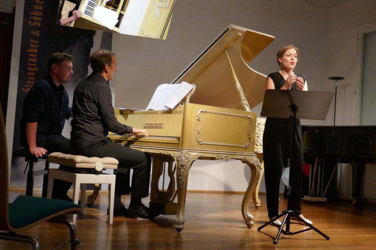 Mirella Hagen, Robin Engelen, Festival junger Künstler Bayreuth,  Steingraeberhaus, 2. August 2020