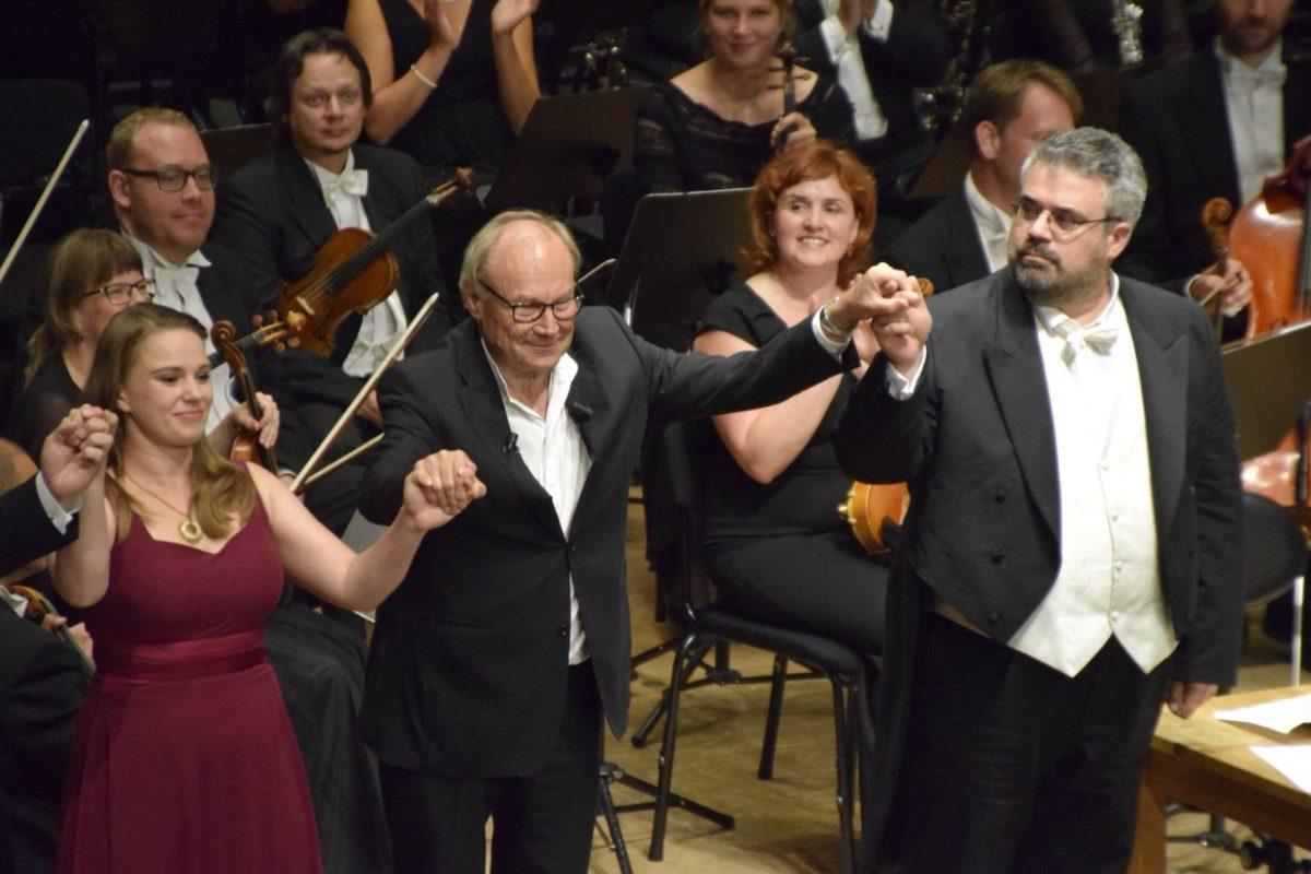 """Robert Schumann, """"Faust-Szenen"""", Symphonischer Chor Hamburg, Flensburger Bach-Chor, Matthias Janz, Klaus Maria Brandauer,  Musik- und Kongresshalle Lübeck"""