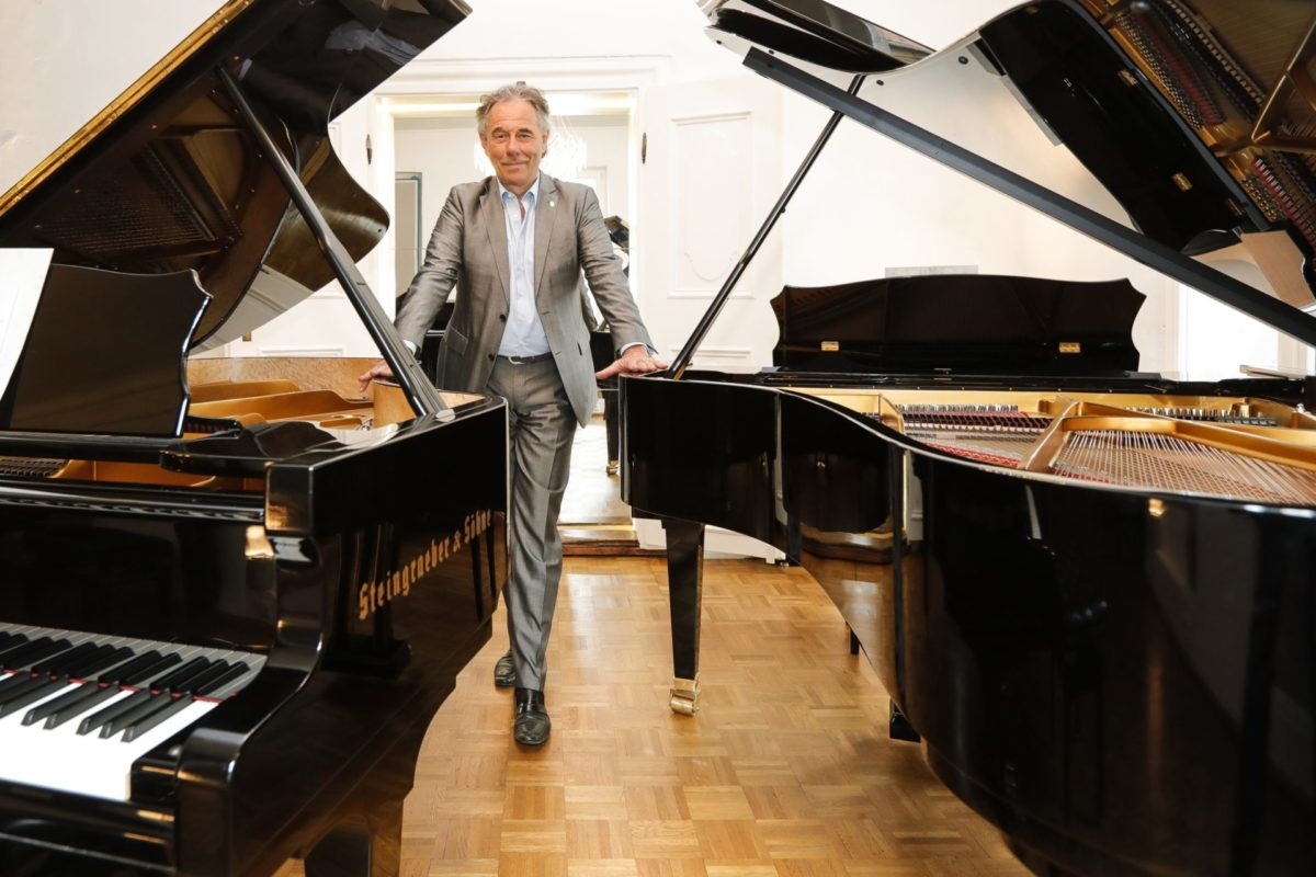 """""""Die Instrumente von gestern machen wir fit für die Zukunft"""", Ein Gespräch mit dem Klaviermanufakturisten Udo Schmidt-Steingraeber"""