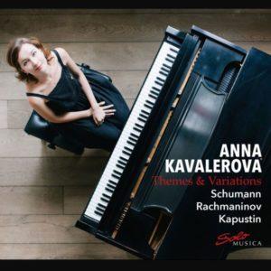 Bildergebnis für Variationen von Schumann, Rachmaninoff und Kapustin: CD-Debut von Anna Kavalerova