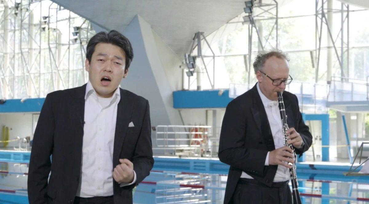 Philharmonisches Staatsorchester Hamburg, Dongwon Kang, Christian Seibold,  Alster-Schwimmhalle