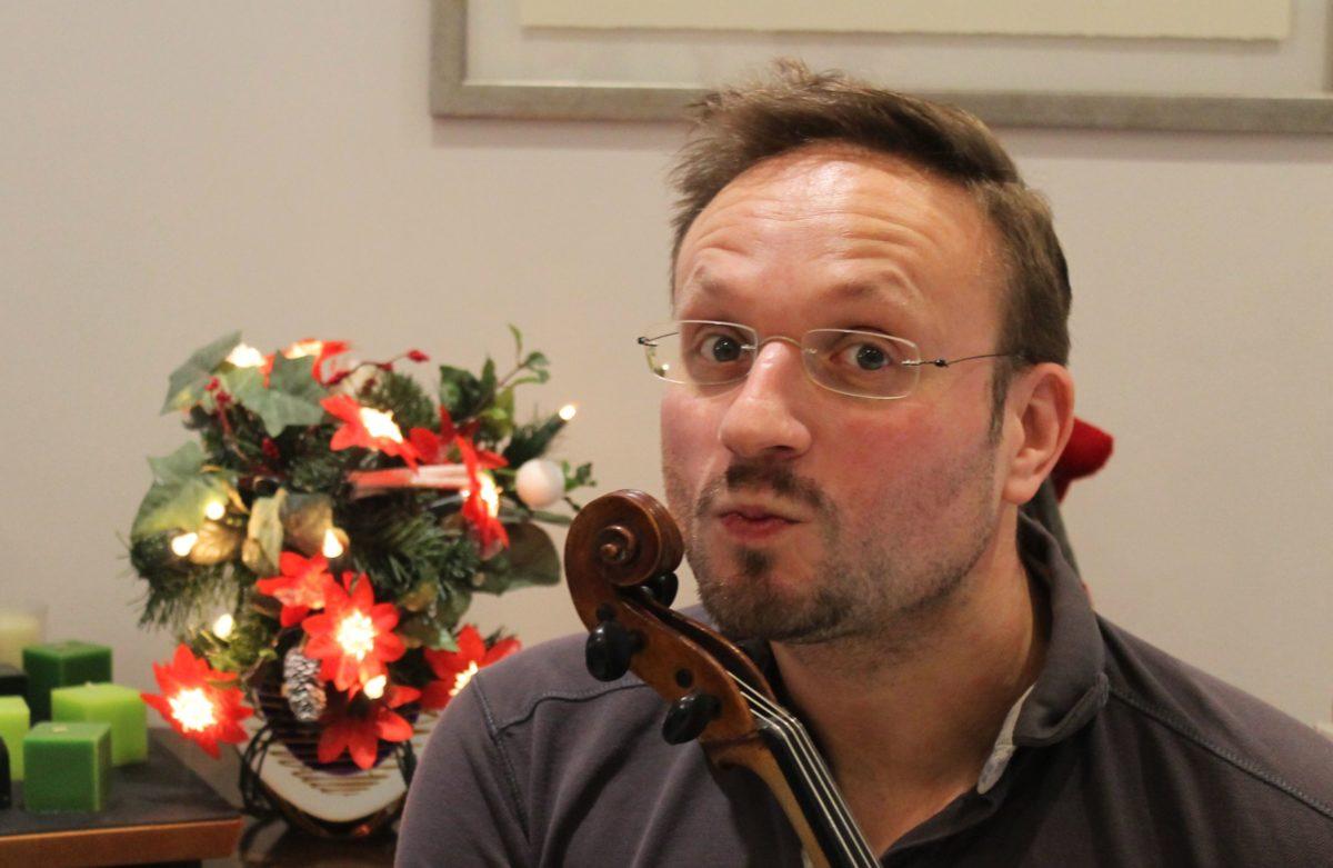 Portrait Andreas Kosinski, Bratschist, Neue Philharmonie Westfalen