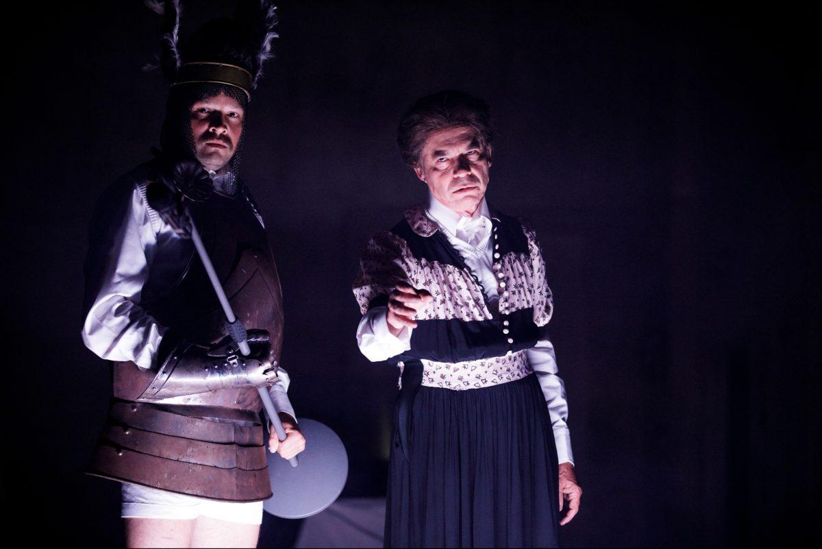 """Siegfried – ein Monolog, Uraufführung, Kulturhof """"Reichshof"""" Bayreuth, 13. August 2019"""