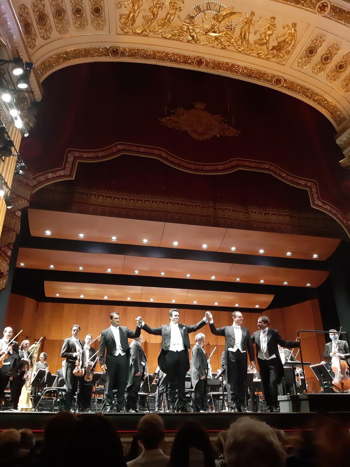 """""""Revival Drei Tenöre"""" , Enrico-Caruso-Gala, Teatro San Carlo, Neapel klassik-begeistert.de"""