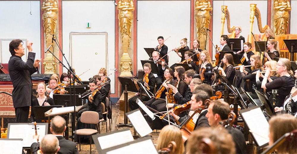 Wiener Musikverein, Goldener Saal 17. Oktober 2018 Tonkünstler-Orchester Niederösterreich