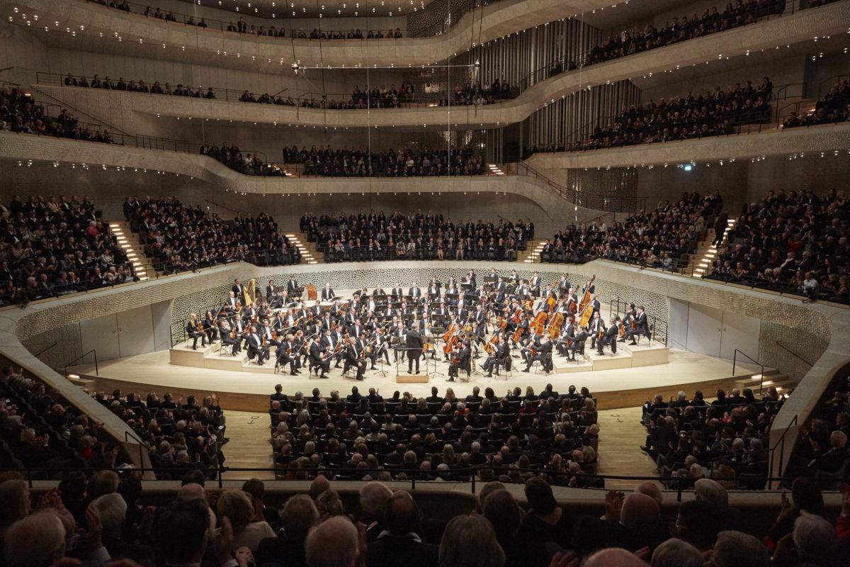 Wiener Philharmoniker, Semyon Bychkov, Joannes Brahms, Gustav Mahler,  Elbphilharmonie Hamburg