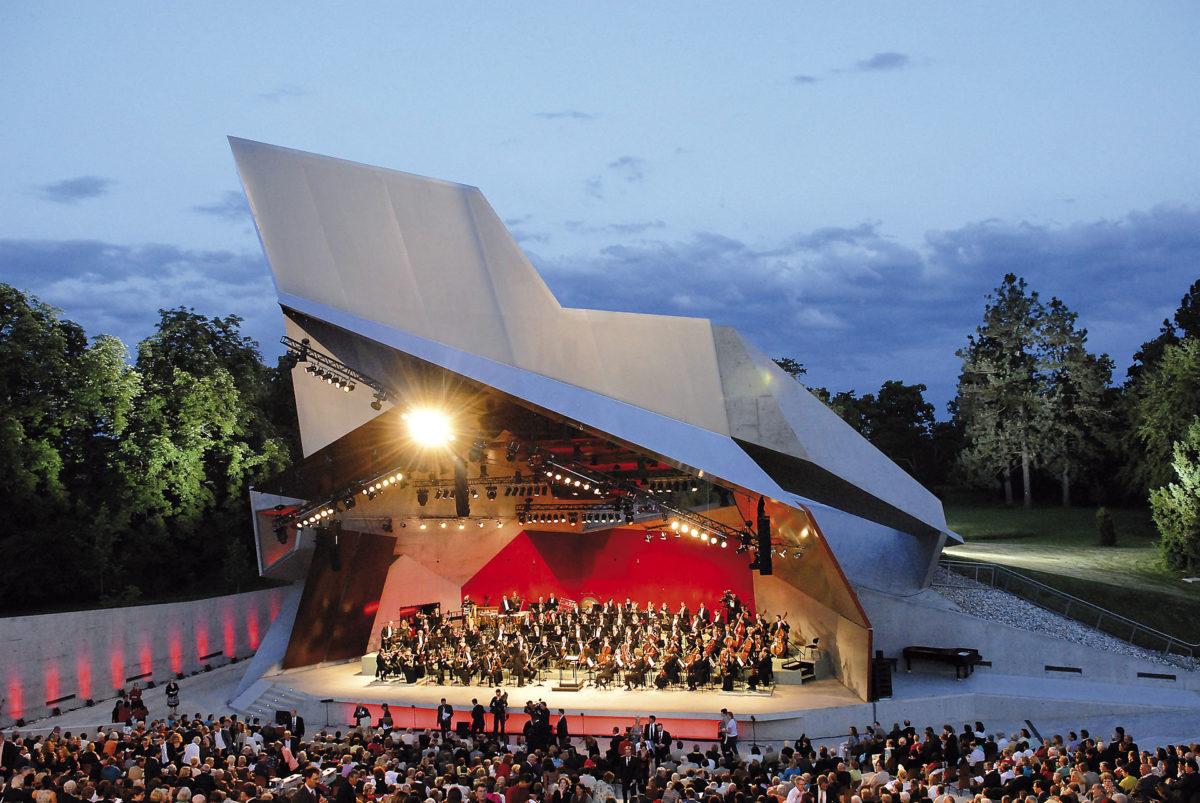 Jaques Offenbach, Aude Extrémo, Thomas Bettinger, Alexandre Duhamel, Les Musiciens du Louvre, Sébastian Rouland,  Grafenegg Festival, 20. Juli 2019