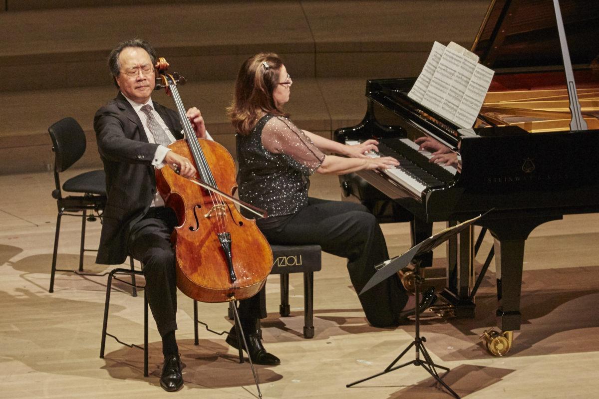 """Yo-Yo Ma, Kathryn Stott: """"Arc of Life"""",  Elbphilharmonie Hamburg"""
