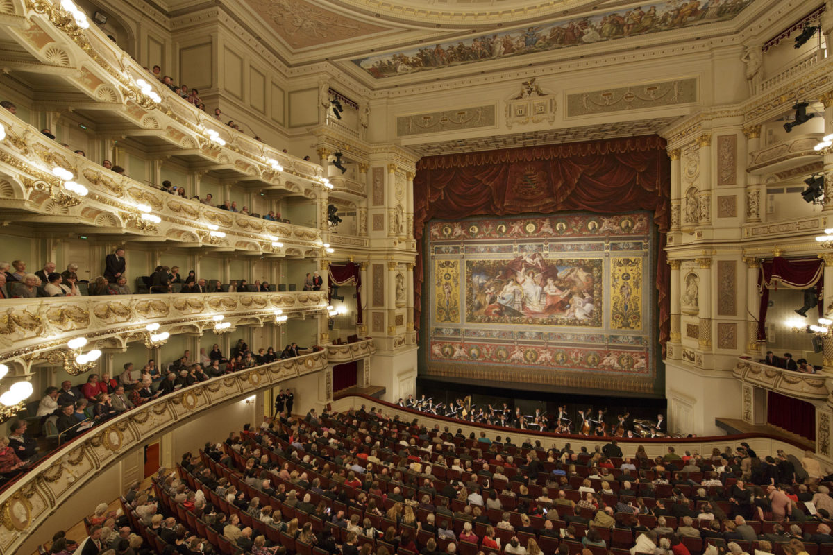 Giacomo Puccini, Tosca (konzertante Höhepunkte),  Semperoper Dresden, 3. Oktober 2020