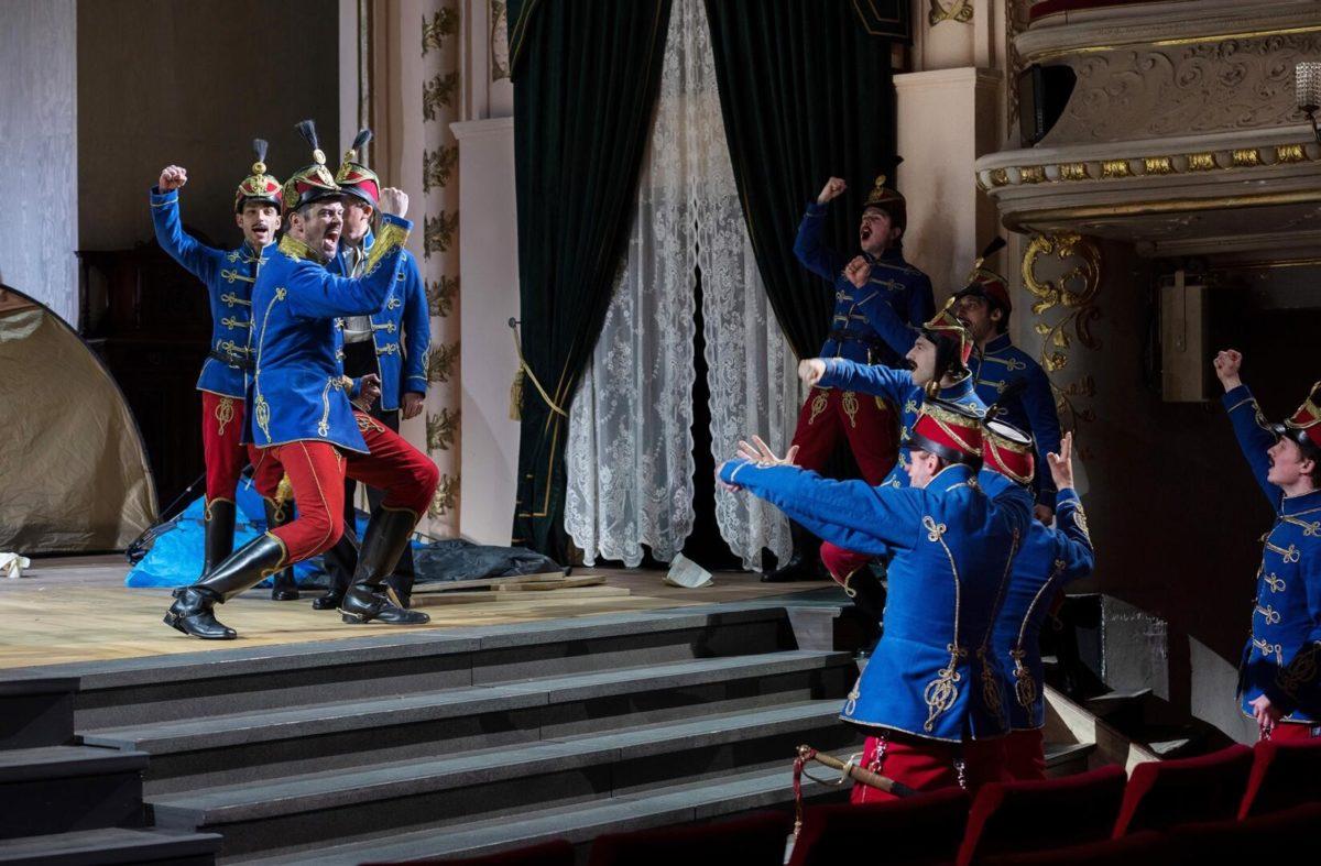 """Johann Strauß, """"Der Zigeunerbaron"""",  Komische Oper Berlin, 26. Juni 2021"""