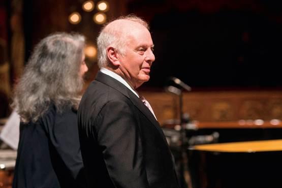 Duo Recital Daniel Barenboim – Martha Argerich,  Philharmonie Berlin