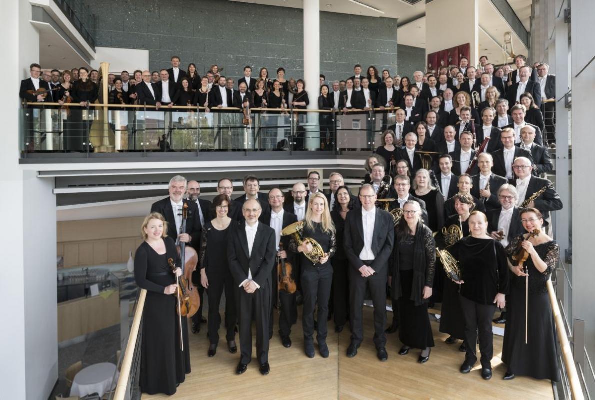Werke von Richard Strauss, Ariane Matiakh,Ana Maria Labin,Staatskapelle Halle,  Georg-Friedrich-Händel-Halle, Halle (Saale)