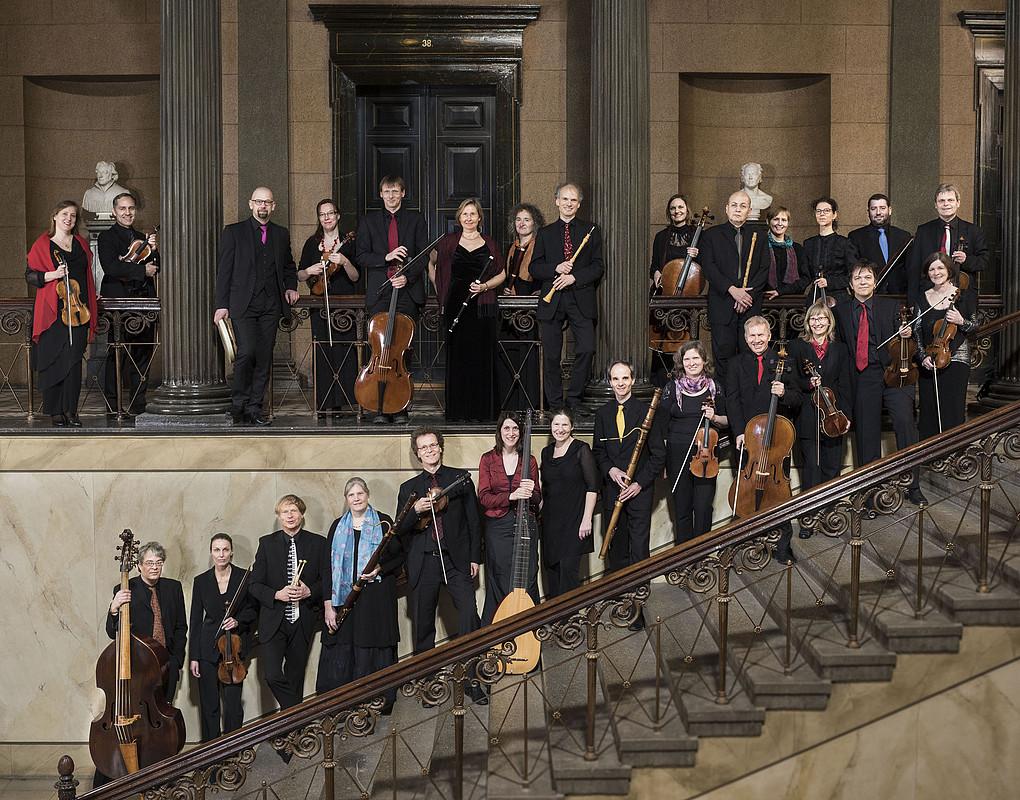 Bach / Händel / Bernhard Forck,Kristian Bezuidenhout, Händelfestspielorchester Halle,  Freylinghausen-Saal, Franckesche Stiftungen Halle
