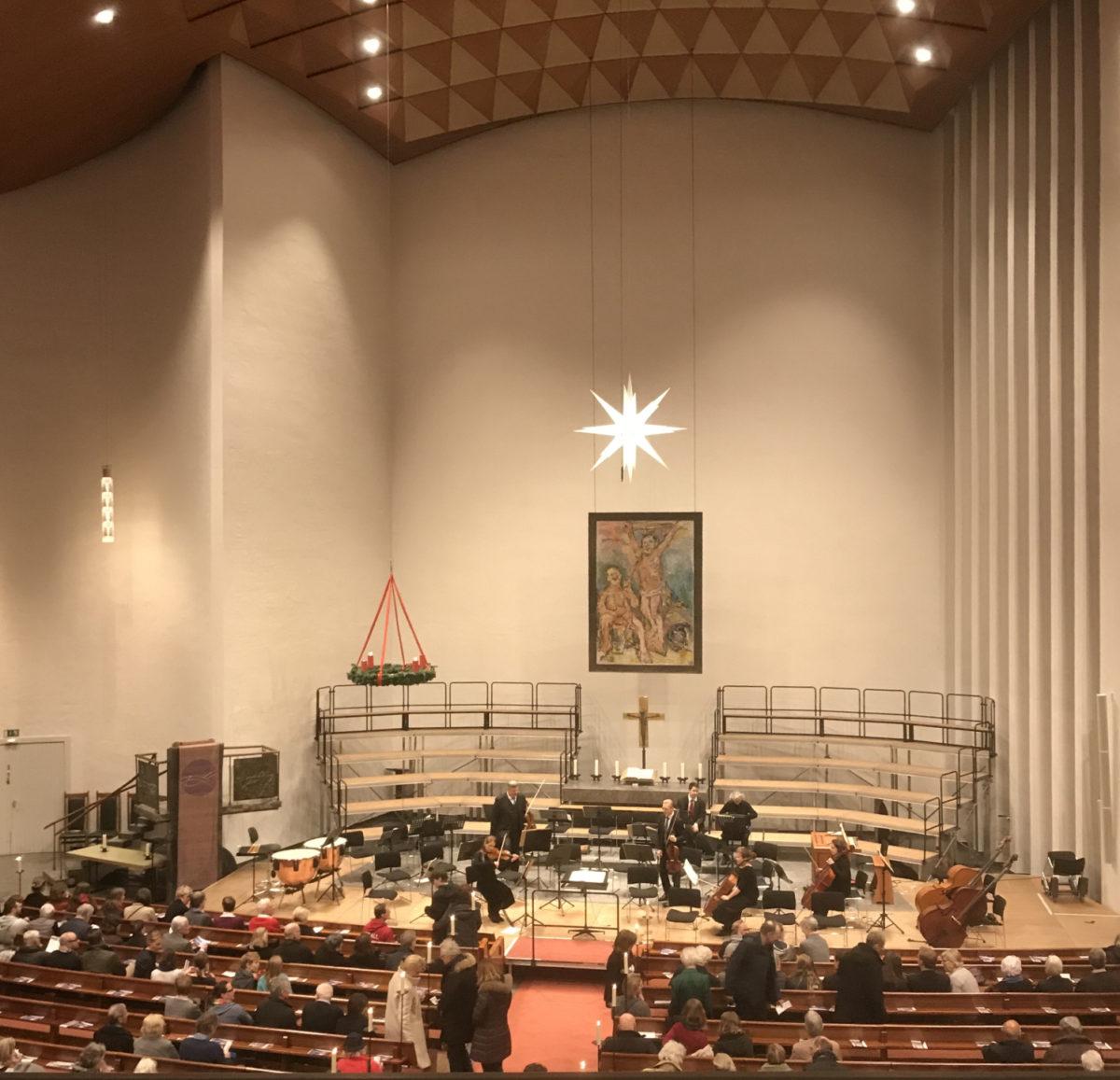 Johann Sebastian Bach, Das Weihnachtsoratorium,  Hauptkirche St. Nikolai am Klosterstern, 19. Dezember 2019