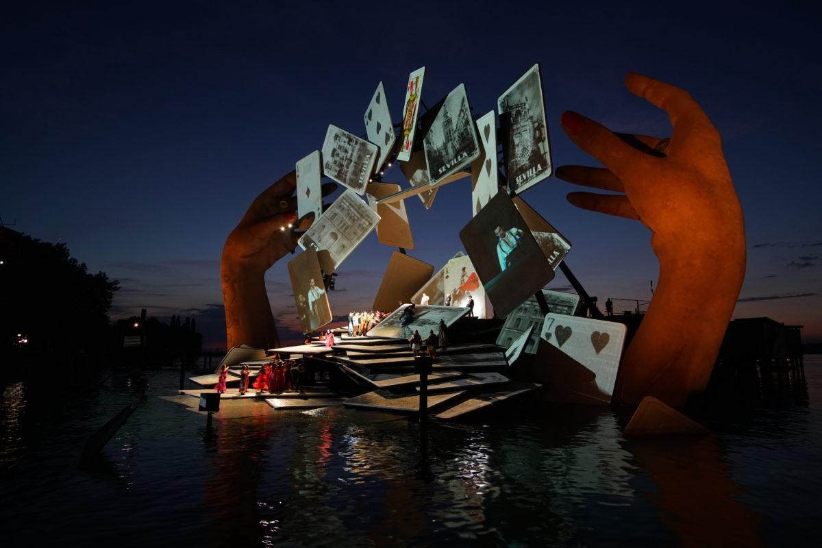 Georges Bizet, Carmen,  Bregenzer Festspiele, Spiel auf dem See