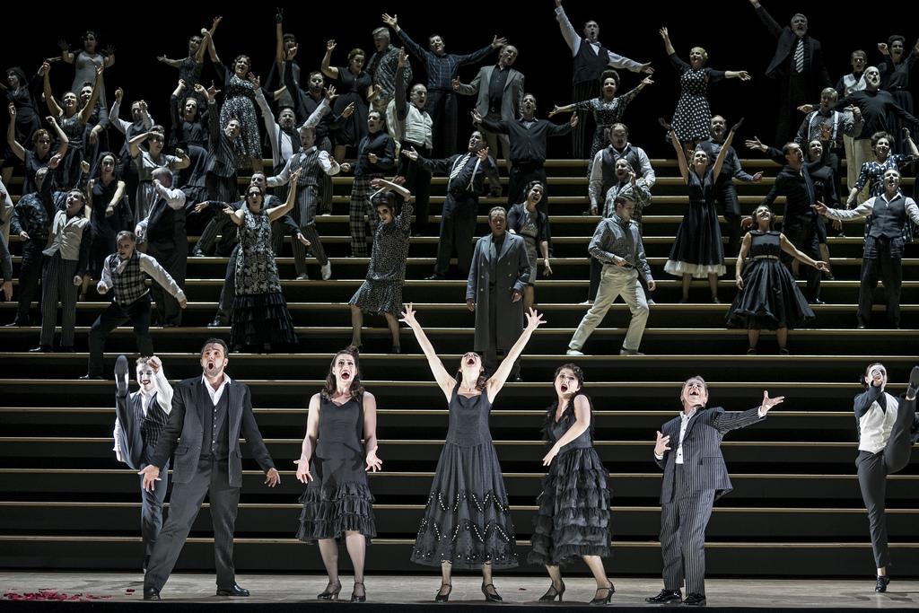 "Georges Bizet, ""Carmen"", The Royal Opera House London, 23. Feburar 2018"