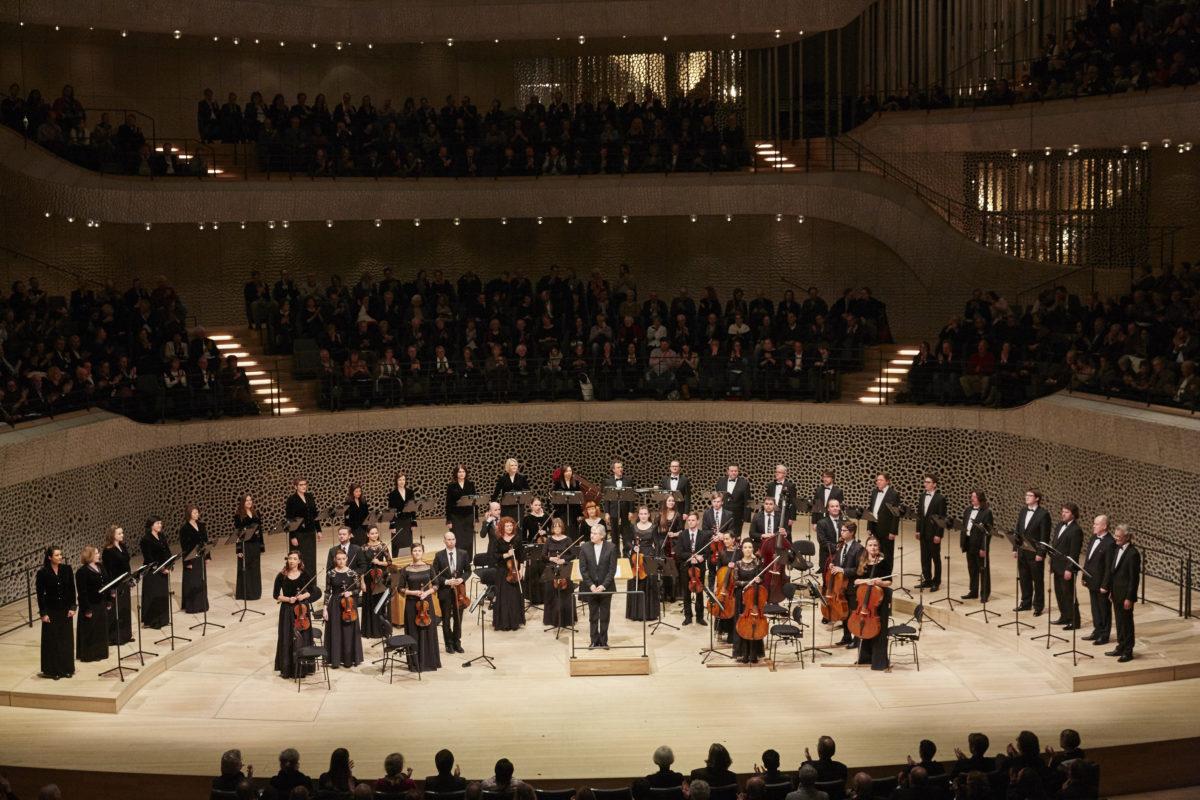 Arvo Pärt, Chor des Lettischen Rundfunks, Sinfonietta Rīga, Sigvards Kļava,  Elbphilharmonie Hamburg