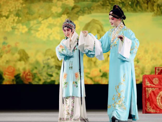 Shanghai Kunqu Opera Company, Der Pfingstrosen-Pavillon, Tang Xianzu,  Haus der Berliner Festspiele,2. Dezember 2018