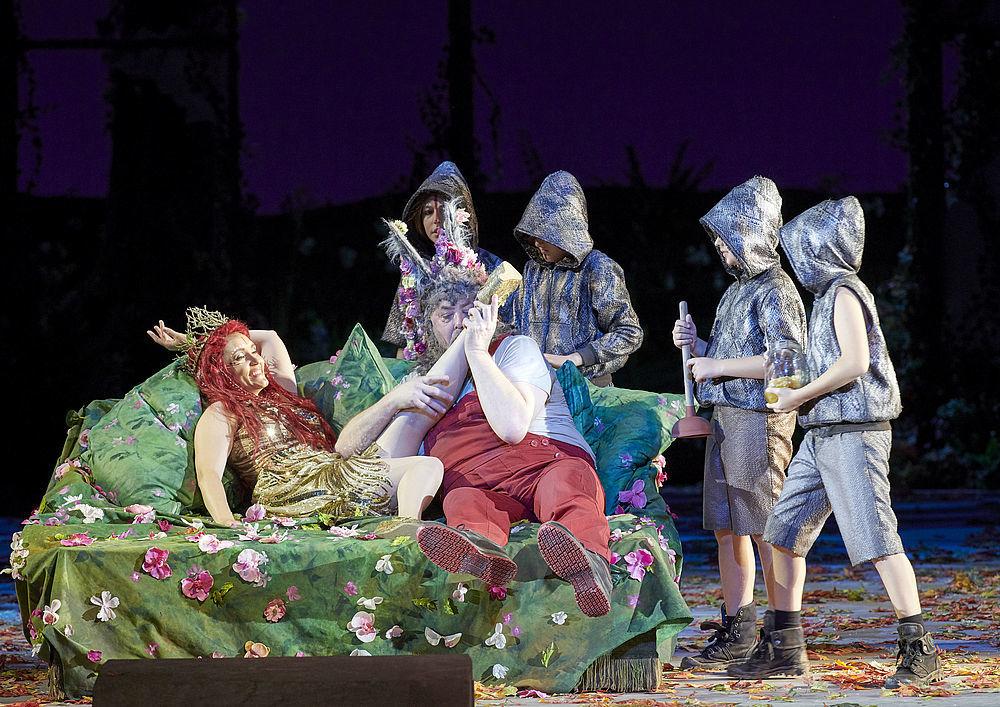 Benjamin Britten, A Midsummer Night´s Dream, Wiener Staatsoper, 17. Oktober 2019