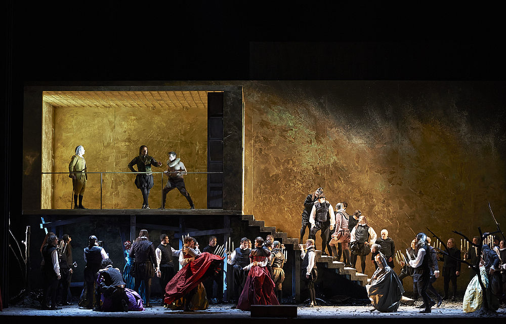 Giuseppe Verdi, RIGOLETTO,  Wiener Staatsoper
