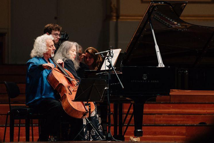 Martha Argerich Festival, Martha Argerich, Mischa Maisky,  Laeiszhalle Hamburg