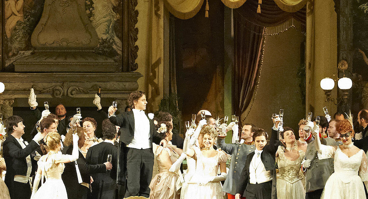 Johann Strauss, Die Fledermaus,  Wiener Staatsoper Livestream, 31. Dezember 2020
