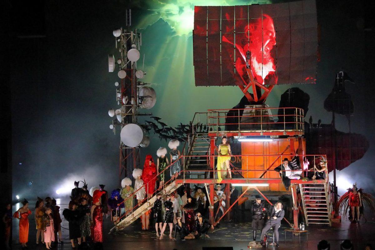 """Walter Braunfels', """"Die Vögel"""",  Bayerische Staatsoper München, Premiere 31. Oktober 2020"""