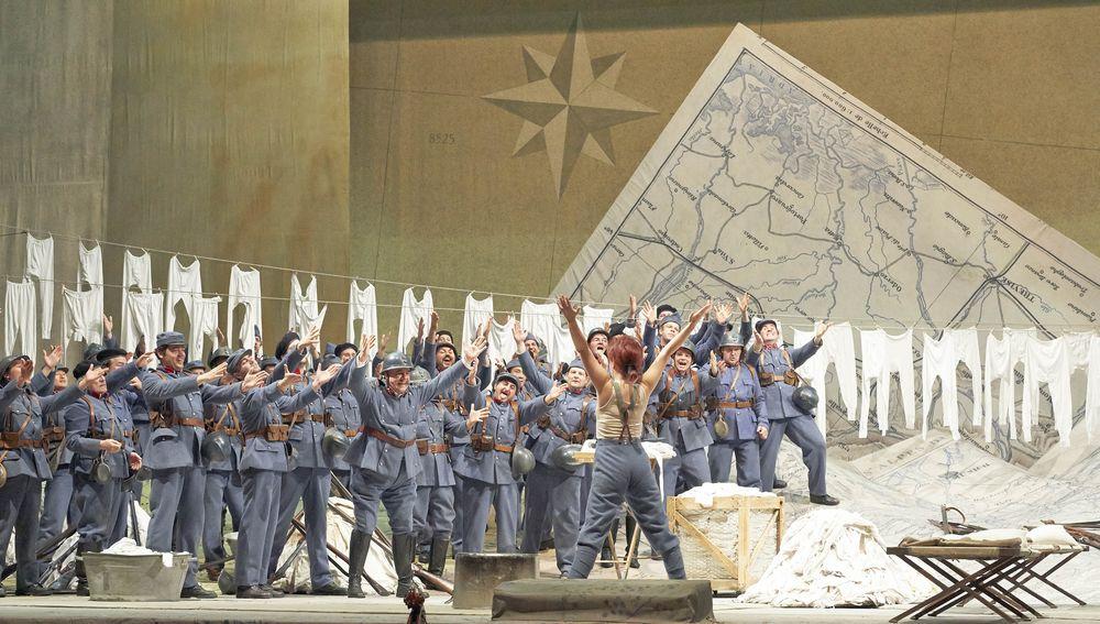 Gaetano Donizetti, La fille du régiment,  Wiener Staatsoper