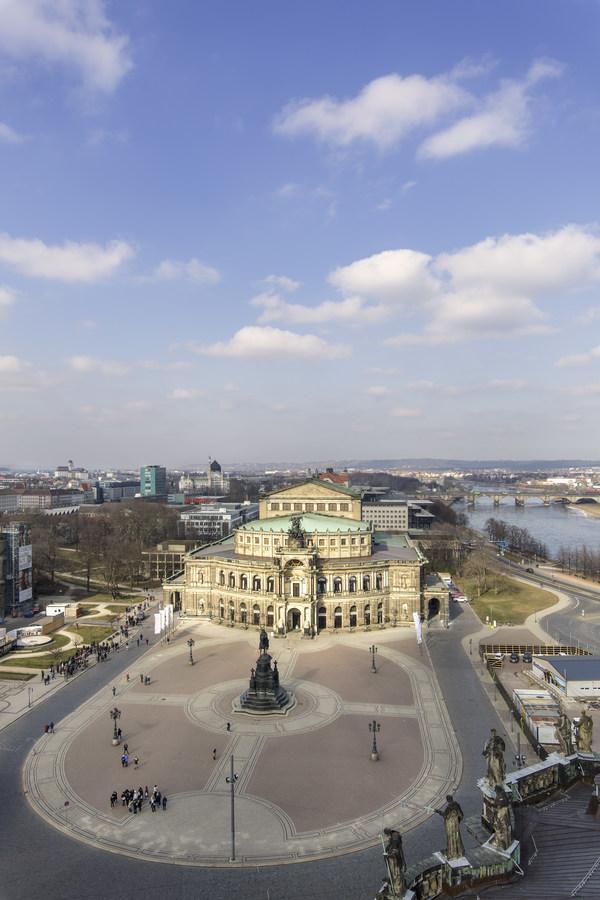 Gioachino Rossini, Il viaggio a Reims / Die Reise nach Reims,  Semperoper Dresden, 25. Oktober 2019