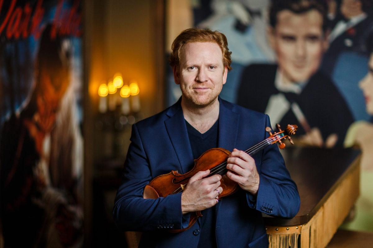 Daniel Hope, Ivor Bolton, Sinfonieorchester Basel,  Festspielhaus Baden-Baden