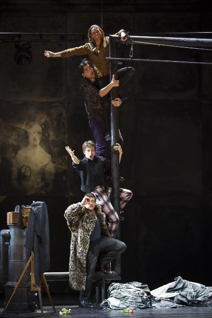 Giacomo Puccini, La Bohème, Komische Oper Berlin, 27. Januar 2019