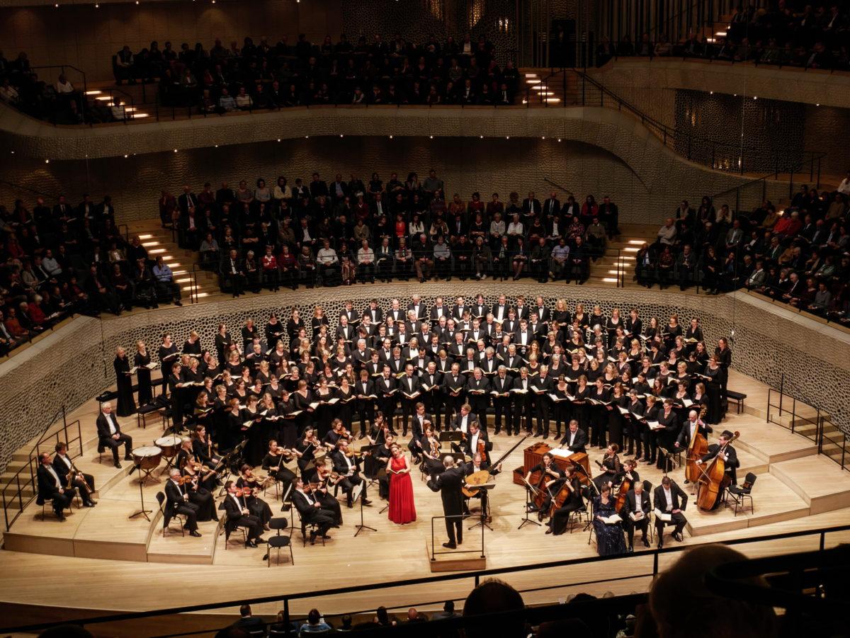 Georg Friedrich Händel, The Messiah, Symphonischer Chor Hamburg Elbipolis Barockorchester Hamburg,  Elbphilharmonie