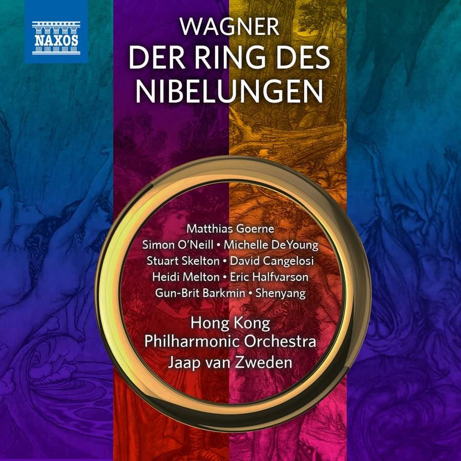 Der Ring des Nibelungen, Jaap van Zweden, Hong Kong Philharmonic Orchestra, 2018,  CD-Besprechung