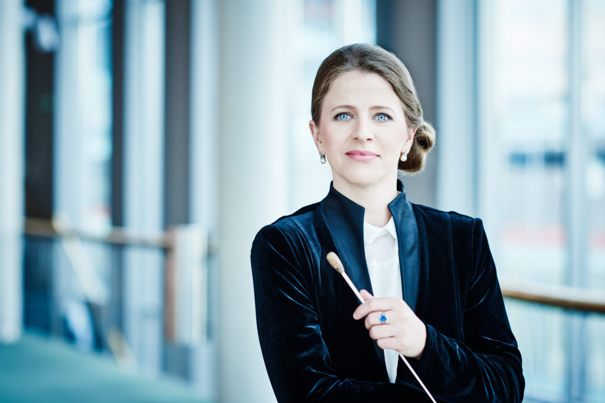 Kristiina Poska, Lorenzo Gatto, Pieter Wispelwey, Sinfonieorchester Flandern,  Concertgebouw Brügge, 03. Oktober 2019