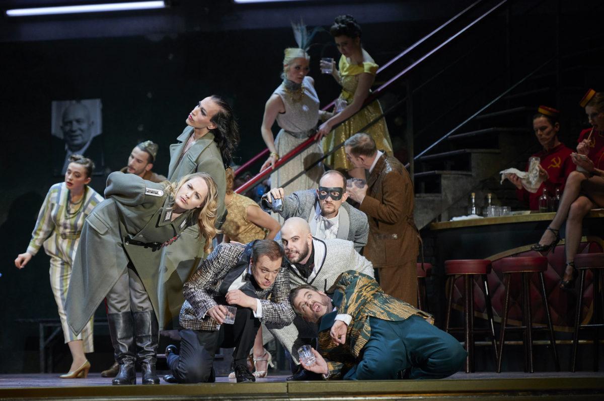 Johann Strauß, Die Fledermaus, Deutsche Oper Berlin, 8. Mai 2018