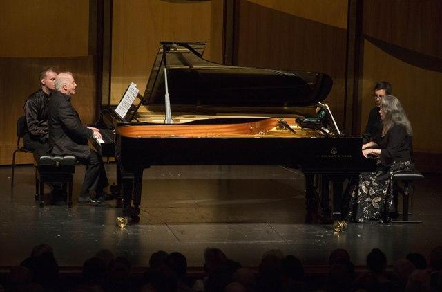 Solistenkonzert Argerich · Barenboim, Salzburger Festspiele, 23. August 2017