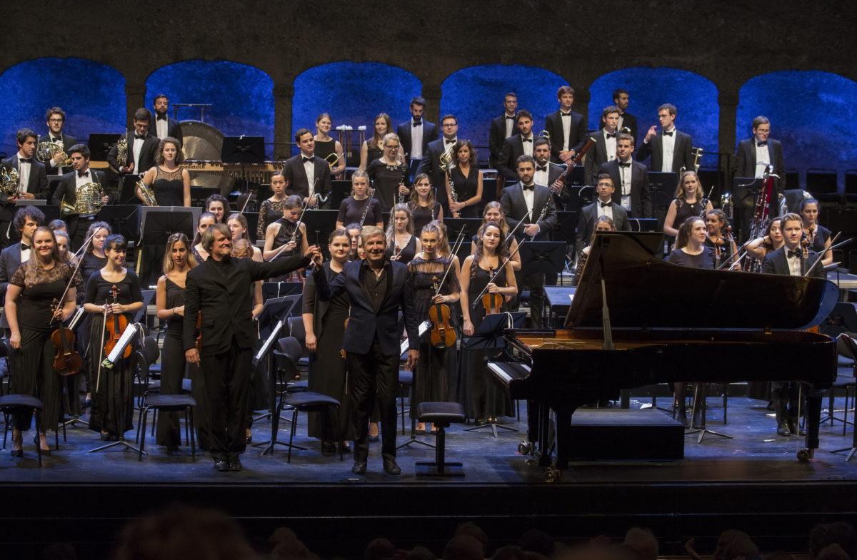 Gustav Mahler Jugendorchester · Metzmacher, Felsenreitschule, 25. August 2017