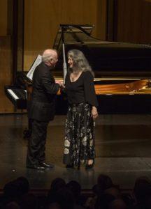 Martha Argerich, Klavier Daniel Barenboim, Klavier