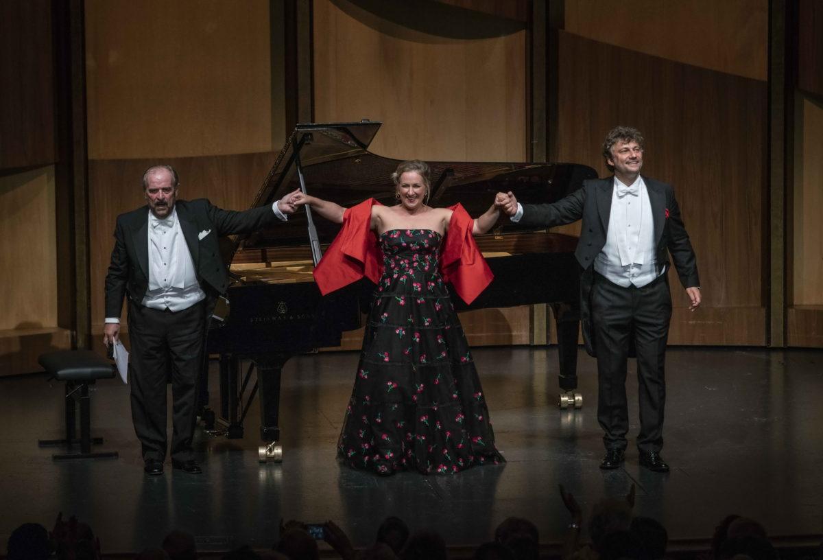 Italienisches Liederbuch von Hugo Wolf, Salzburger Festspiele, Jonas Kaufmann und Diana Damrau, 3. August 2018